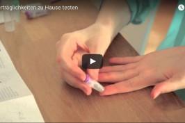 Video-Tutorial Unverträglichkeiten testen mit kiweno