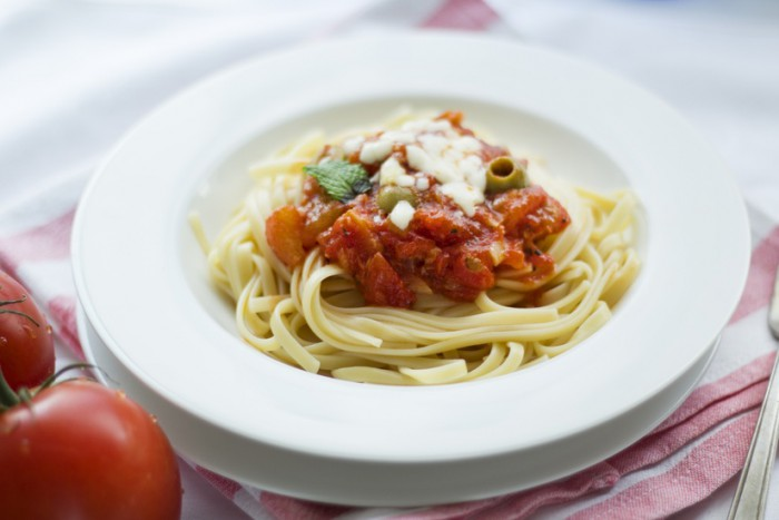 Glutenfreie Spaghetti Bolognese sind unser aller Leibgericht.