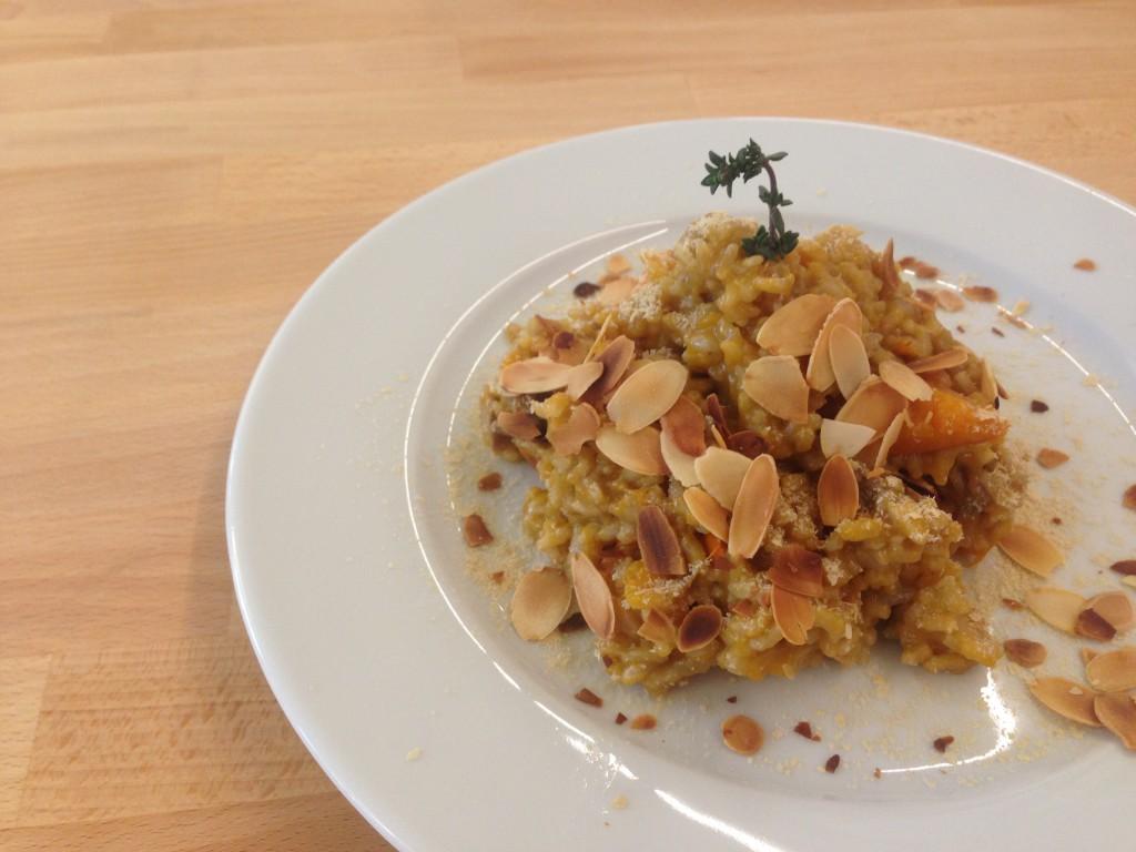 Glutenfreies veganes Kürbis-Curry