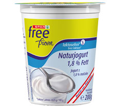 Laktosefreie Natur-Joghurts2