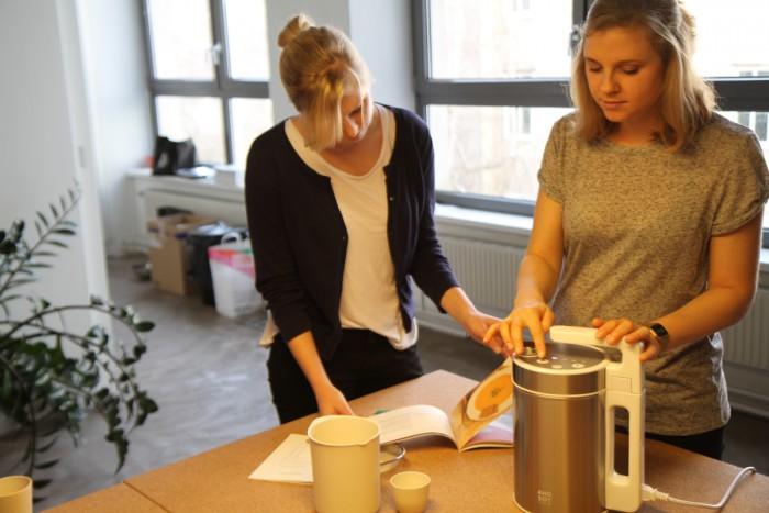 kiweno macht laktosefreie Reismilch