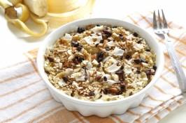 Glutenfreier gebackener Quinoa