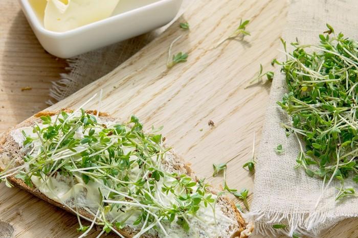 Weizenfreies Brot backen mit Leinsamen