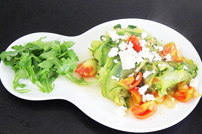 Zucchini in ihrer leckersten Form: Das sind Zoodles. © kiweno