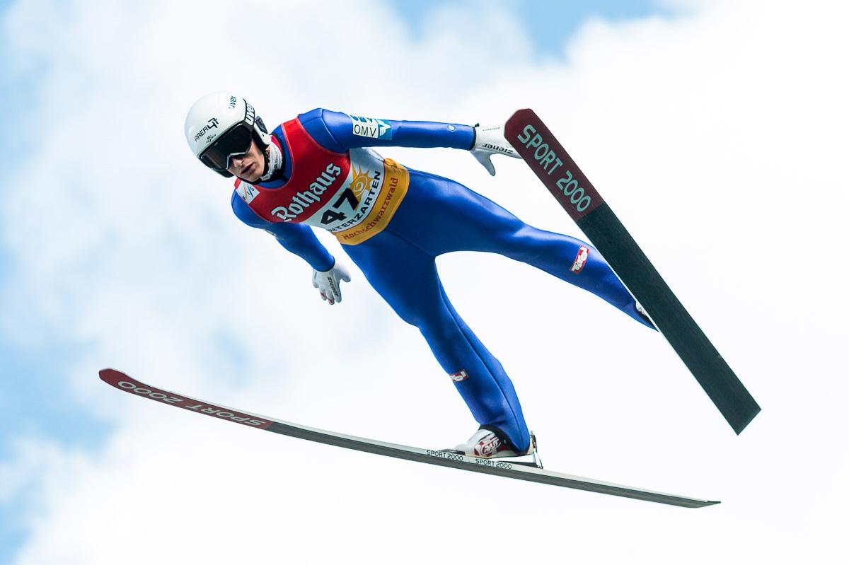 Skispringer Clemens Aigner erzählt in seinem Erfahrungsbericht von seiner Ernährungsumstellung. © ÖSV / Florian Kotlaba