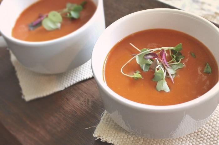 Vertreibt Kälte und schlechte Laune sofort: Tomatensuppe! © pixabay.com