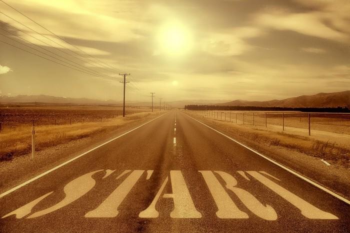 Um deine Ziele zu erreichen, heißt es den Start-Knopf zu drücken und deinen Weg zu gehen. ©pixabay